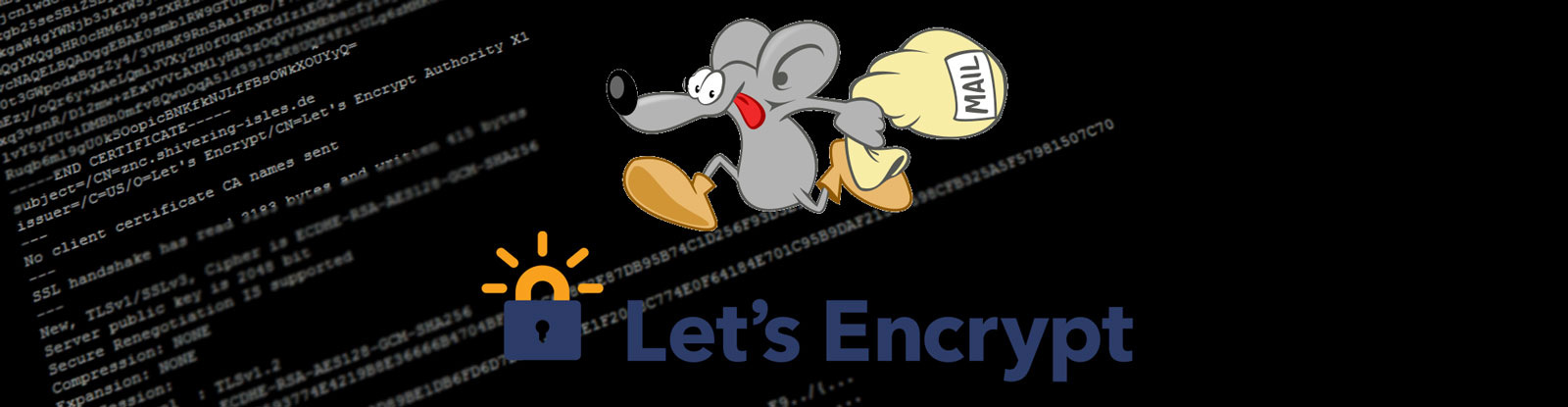 Let\'s encrypt: Free, trusted certificates for postfix and dovecot